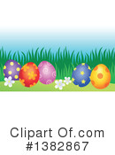 Royalty-Free (RF) Easter Egg Clipart Illustration #1382867