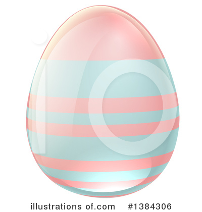 Easter Egg Clipart #1384306 by AtStockIllustration