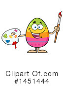 Easter Egg Clipart #1451444 by Hit Toon