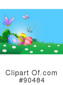 Royalty-Free (RF) Easter Egg Clipart Illustration #90484