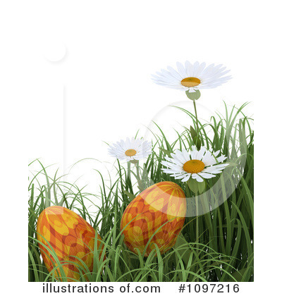 Daisies Clipart #1097216 by KJ Pargeter