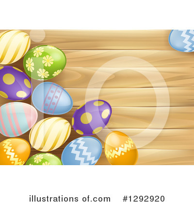 Easter Egg Clipart #1292920 by AtStockIllustration