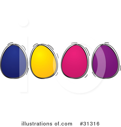 Easter Eggs Clipart #31316 by suzib_100
