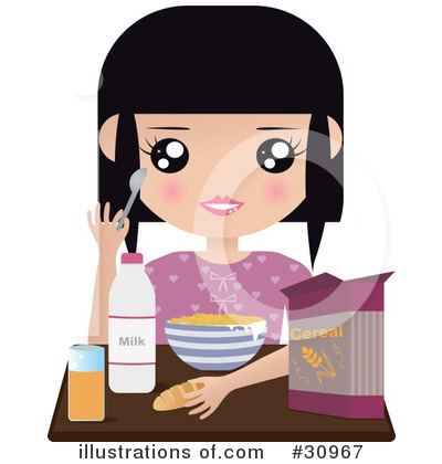 Girl Clipart #30967 by Melisende Vector