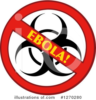 Ebola Clipart #1270280 by Hit Toon