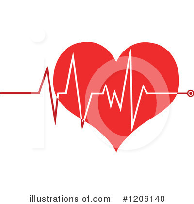 Heart Clipart #1206140 by Hit Toon