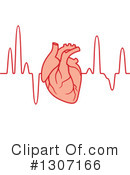 Royalty-Free (RF) Ecg Clipart Illustration #1307166