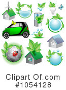 Royalty-Free (RF) Ecology Clipart Illustration #1054128