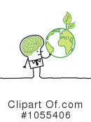 Royalty-Free (RF) Ecology Clipart Illustration #1055406