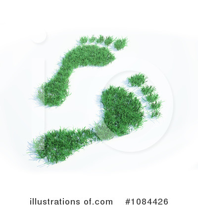 Footprint Clipart #1084426 by Mopic
