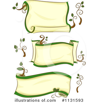 Banners Clipart #1131593 by BNP Design Studio