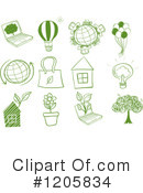 Ecology Clipart #1205834 by Graphics RF