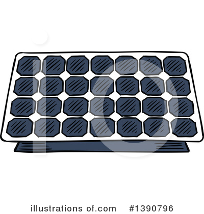 Solar Energy Clipart #1390796 by Vector Tradition SM