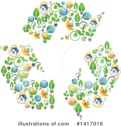 Solar Energy Clipart #1417016 by Vector Tradition SM