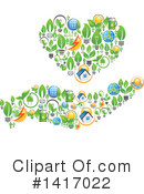 Royalty-Free (RF) Ecology Clipart Illustration #1417022