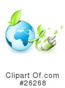 Royalty-Free (RF) Ecology Clipart Illustration #26268
