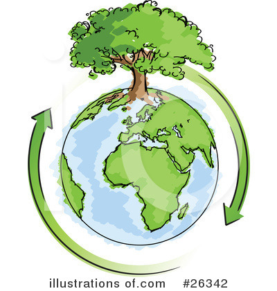 Royalty-Free (RF) Ecology Clipart Illustration by beboy - Stock Sample #26342