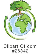 Royalty-Free (RF) Ecology Clipart Illustration #26342