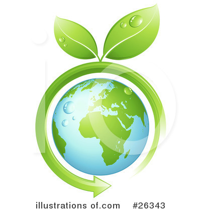 Royalty-Free (RF) Ecology Clipart Illustration by beboy - Stock Sample #26343
