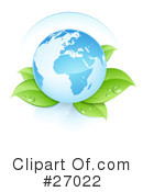 Royalty-Free (RF) Ecology Clipart Illustration #27022