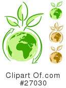 Royalty-Free (RF) Ecology Clipart Illustration #27030