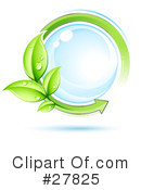 Royalty-Free (RF) Ecology Clipart Illustration #27825