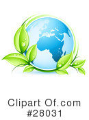 Royalty-Free (RF) ecology Clipart Illustration #28031