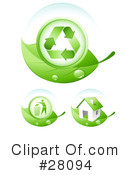 Royalty-Free (RF) Ecology Clipart Illustration #28094