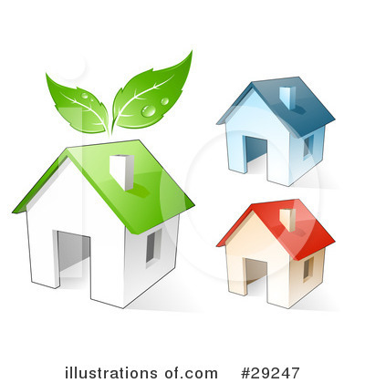 House Clipart #29247 by beboy