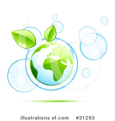 Royalty-Free (RF) Ecology Clipart Illustration by beboy - Stock Sample #31293