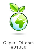Royalty-Free (RF) ecology Clipart Illustration #31306