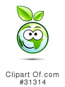 Royalty-Free (RF) ecology Clipart Illustration #31314