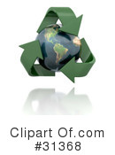 Royalty-Free (RF) ecology Clipart Illustration #31368