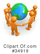 Royalty-Free (RF) Ecology Clipart Illustration #34919