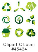 Royalty-Free (RF) ecology Clipart Illustration #45434