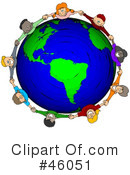 Royalty-Free (RF) Ecology Clipart Illustration #46051