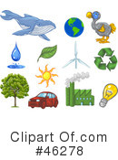 Royalty-Free (RF) Ecology Clipart Illustration #46278