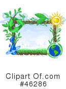 Royalty-Free (RF) Ecology Clipart Illustration #46286
