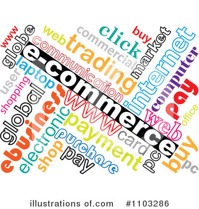 Ecommerce Clipart #1103286 - Illustration by Andrei Marincas