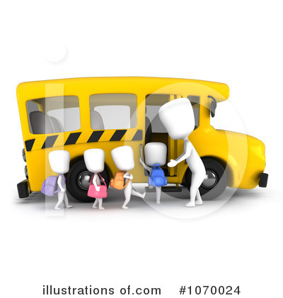 Bus Clipart #1070024 by BNP Design Studio