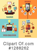 Education Clipart #1288262 by Vector Tradition SM