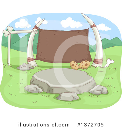 Prehistoric Clipart #1372705 by BNP Design Studio