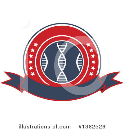 Dna Clipart #1382526 by Vector Tradition SM
