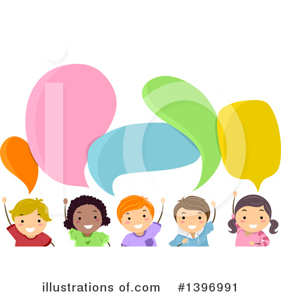 Talking Clipart #1396991 by BNP Design Studio