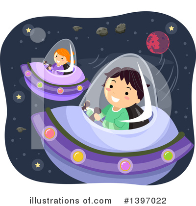 Ufo Clipart #1397022 by BNP Design Studio