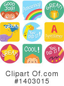 Education Clipart #1403015 by BNP Design Studio