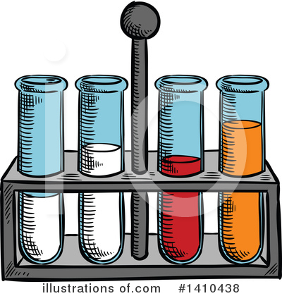 Test Tube Clipart #1410438 by Vector Tradition SM