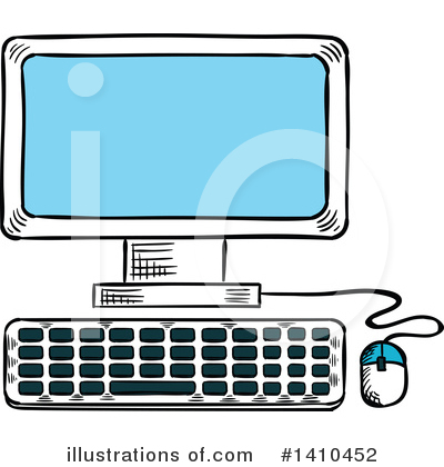 Internet Clipart #1410452 by Vector Tradition SM