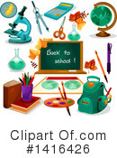 Royalty-Free (RF) Education Clipart Illustration #1416426