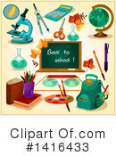 Royalty-Free (RF) Education Clipart Illustration #1416433